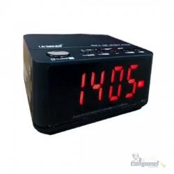 Rádio Relógio Alarme Lelong LE-674